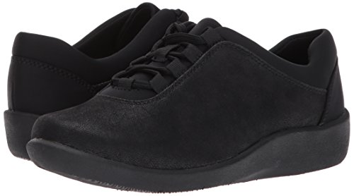 Pine US Women's Synthetic 10 Walking CLARKS W Sillian Shoe Black E7wCq4zxT