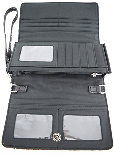 Blancho Pu Stile Avorio Letto Set Da Fashion Biancheria Wallet aquila Portafoglio Comobo Leather Elegante Hanbag avorio Bag Delle Donne rWf0RrFqS