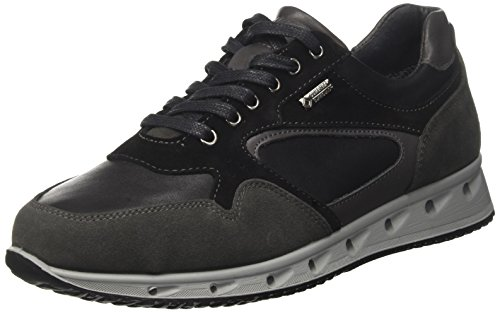 IGI Grigio Uomo Scuro Ulsgt Sneaker Basso amp;CO 8747 Grigio Collo a raqrB1