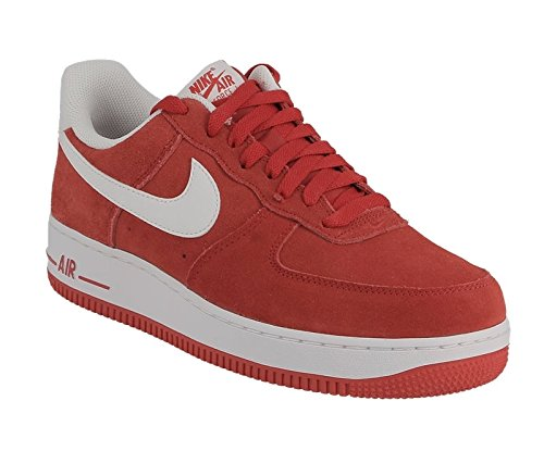 NIKE Mens Air Force 1 Low 07 Basketball Shoes University Red/White 315122-612 Size 12