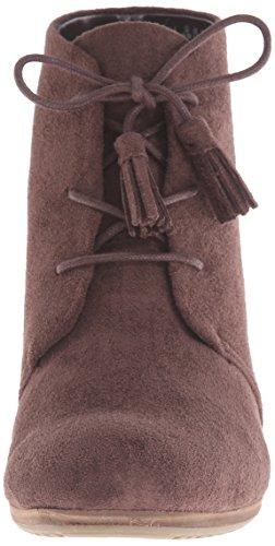 Dr. Scholl's Women's Dakota Boot Dark Brown Microfiber clearance big discount cheap excellent xE4bggov