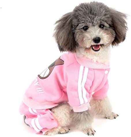 Zunea - Mono para Perro pequeño, algodón Acolchado, chándal de ...
