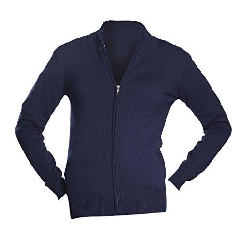 SOL'S Womens/Ladies Gordon Full Zip Cardigan (M (8-10 US)) (Navy)