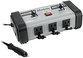 Rally 200 Watt Mobile Power Inverter Source with USB Ports