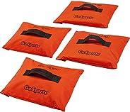 GoSports Sports Net Sand Bags Set of 4 - Weighted Anchors for Baseball Nets, Soccer Goals, Golf Nets, Football