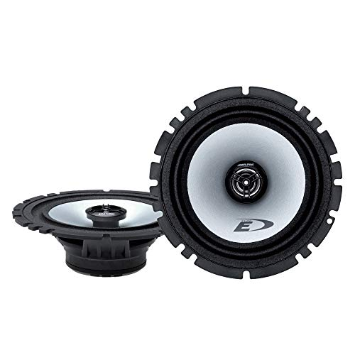 "Alpine SXE-1725S 80W 6.5"" 2-Way Type-E Coaxial Speakers W/Mylar-Titanium Tweeters"