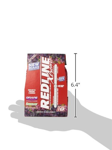 VPX Sports Redline Xtreme RTD Energy Drink, Grape, 8 oz., 24 Count