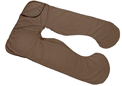 Today's Mom Cozy Comfort Pregnancy Pillow Replacement Cover, Espresso (Pillow Case Espresso compare prices)