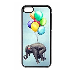 Elephant New Fashion DIY Phone Case for Iphone 5C,customized cover case ygtg525432