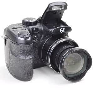 GE X500 16MP 15x Optical/6x Digital Zoom HD Camera Black [Camera]