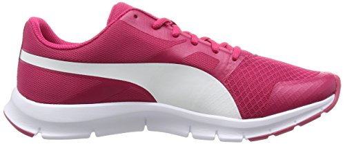 Puma Flexracer - Chaussures Dentrainement - Mixte Adulte - Rouge (RoseRouge/White 06) - 41 EU (7.5 UK)