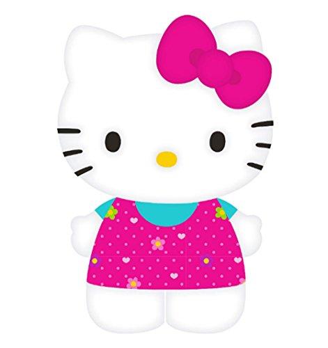 18 Inch Hello Kitty Flowers - Hello Kitty Dress In Flowers Pillow Buddy