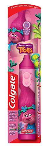 Colgate Kids Battery Powered Toothbrush, Trolls (4 pk.)