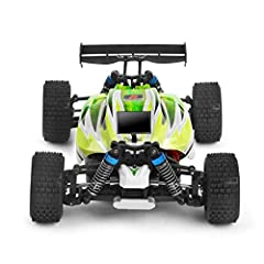 Specifications:   Brand: WLtoys  Item: Buggy  Item NO.: A959-B  Scale: 1/18  Max. Speed: 70km/h  Net Weight: 622g  Motor: 540 Brushed Motor  Frequency: 2.4G  Battery Required (For Transmitter): 4pcs, 1.5V Battery (Not Included)  Battery Requ...