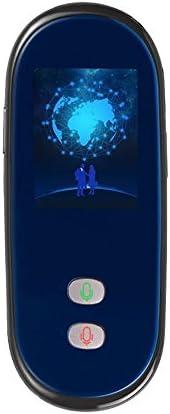 Smart Language Translator 4G Wifiグローバルオンライン35言語インスタントボイス同期翻訳学習旅行ビジネス会議(アップグレード版),Black
