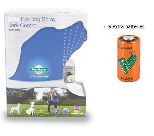 Elite Big Dog Spray Bark Control Collar Citronella PBC00-12724 by Elite