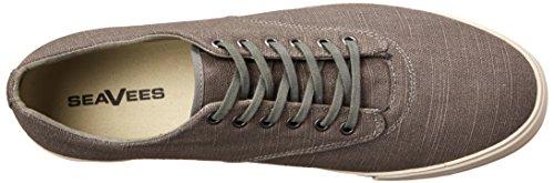 Seavees Mens 08/63 Hermosa Plimsoll Standard Scarpa Da Tennis Tin Grigio Vintage Lava Biancheria