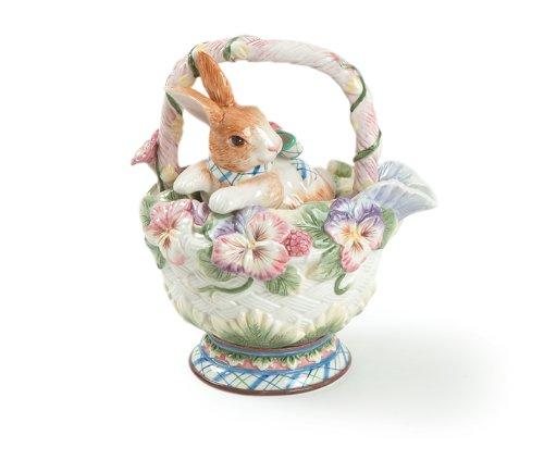 Halcyon Collection, Rabbit (Fitz Floyd Teapots)