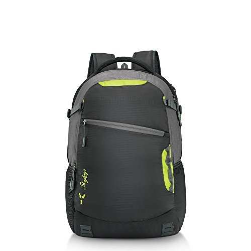 Skybags Teckie 04 Black 42 Ltrs Laptop Backpack with Raincover