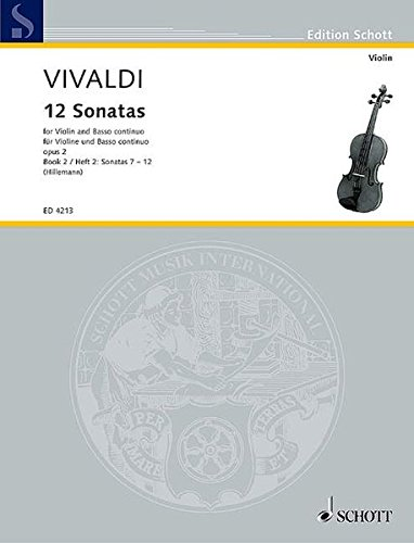 (12 Sonatas, Op. 2 - Book 2: for Violin and Basso Continuo (Violoncello ad lib.))