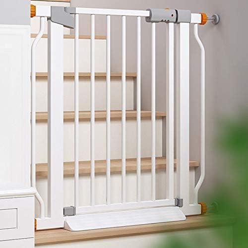 Huo Barandilla de Escalera Valla para Mascotas Barrera de Seguridad para Bebés para Escaleras Puerta de Aislamiento para Mascotas (Size : 216-223cm): Amazon.es: Hogar