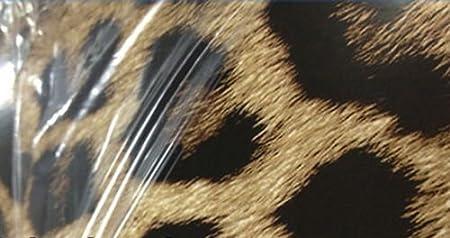 Car Wrapping Leopardenfell 0,5m x 1,52m 3D Leopard Folie Hochglanz mit Luftkan/älen