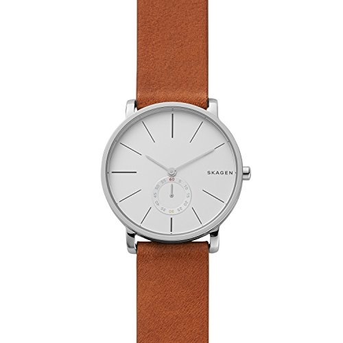 Skagen Men's SKW6273 Hagen Dark Brown Leather Watch