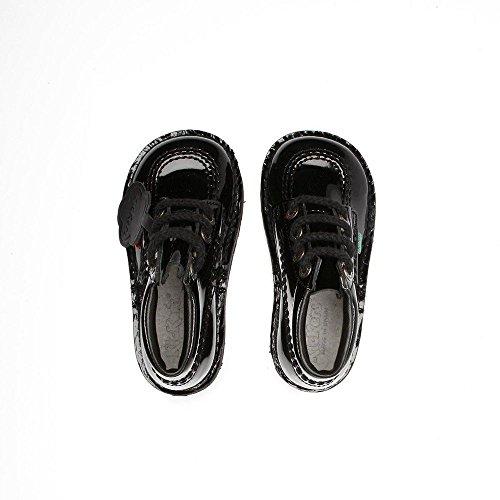Schwarz Kickers Hi 1 5� Back nbsp;kf0000408bxw Kick UK School 2 Mädchen Infants to Patent rqIwTqp