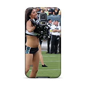 Defender Case For Galaxy S5, Philadelphia Eagles Cheerleaders New Uniforms Pattern