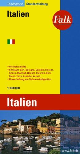 Falk Länderkarte Italien 1:600 000
