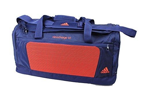 Adidas Sporttasche Tasche Reisetasche Umhängetasche blau - orange