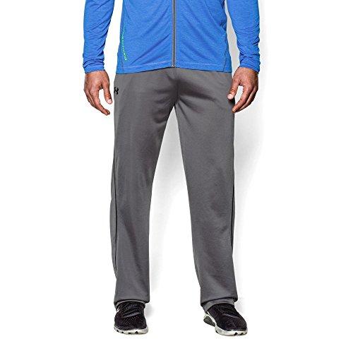Under Armour Men's Relentless Warm-Up Pants - Straight Leg, Graphite/Black, Small