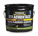 Flooring Adhesive, 3.5 Gallon, Black