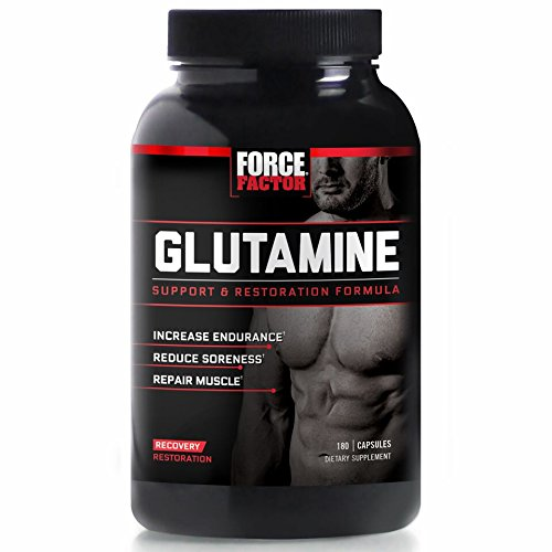Force Factor L Glutamine Post Workout Supplement