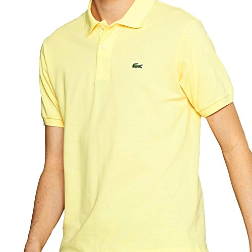 Short Sleeve Classic Pique Polo: Jonquil Yellow (Size Xxl / Eur8)