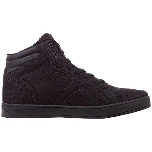 Grey Nanook Herren Black Schwarz Sneaker Hohe Kappa 1116 YB1wxn