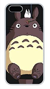 Cartoon My Neighbor Totoro Custom pc white For SamSung Galaxy S4 Mini Phone Case Cover by Acreativeshop