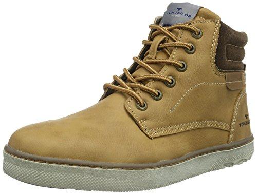 Tom Tailor 8580403 - Zapatillas Hombre Marrón (Camel)