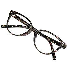 Blue Light Blocking Glasses,Reduce Headache,+2.50 Magnification Reading Glasses for Women