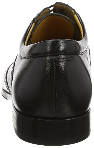 Bakewell Nero Oxford Scarpe Barker black Stringate Calf Uomo 17