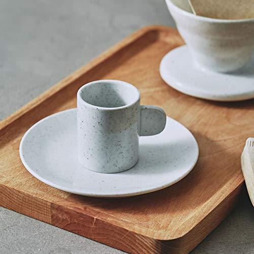 njhswlti Taza de café de Estilo japonés y platillo colado a Mano Taza de Filtro de gres Taza de café Taza condensada Latte Taza de café Creativo nórdico, ...