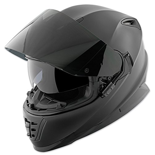 Speed and Strength SS1600 Solid Matte Black Full Face Helmet, 2XL