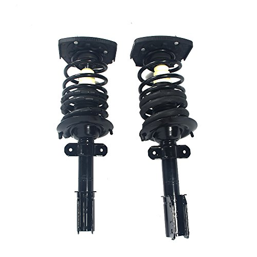 MILLION PARTS 2 Pcs Rear Complete Strut Shock Absorber Assembly 271662 for Buick 2005-2009 Allure LaCrosse Chevrolet 2000-2011 Impala 2000-2007 Monte Carlo Pontiac 2004-2008 Grand Prix