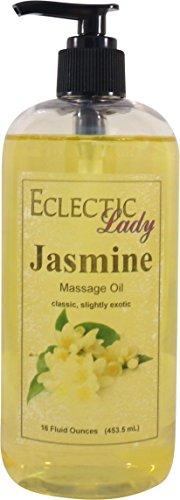 Jasmine Massage Oil, 16 oz