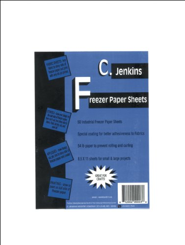 C. Jenkins Freezer Paper Sheets, 8-1/2 by 11-Inch, 50 Per Package
