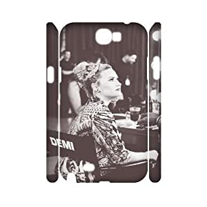 QSWHXN Demi Lovato Customized Hard 3D Case For Samsung Galaxy Note 2 N7100