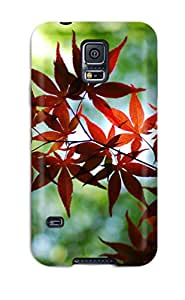 For Galaxy S5 Premium Tpu Case Cover Leaf Earth Nature Other Protective Case
