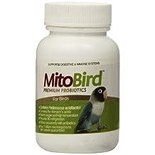 MitoBird Premium Probiotics for Birds, 15 Capsules Per Bottle