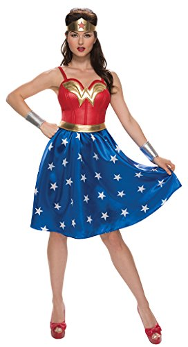 Faerynicethings Adult Size Wonder Woman Dress Costume - 4 Sizes
