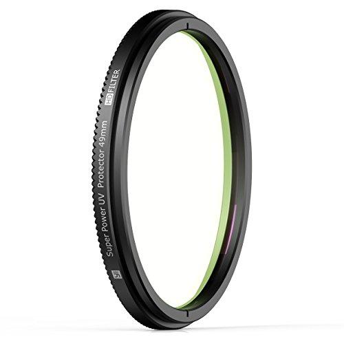 YI UV Protection Filter - 49 mm Lens Hood